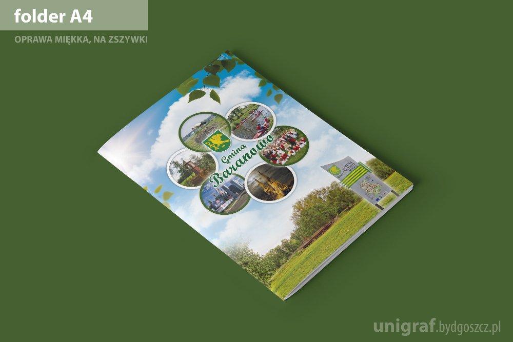 Folder reklamowy gminy Baranowo
