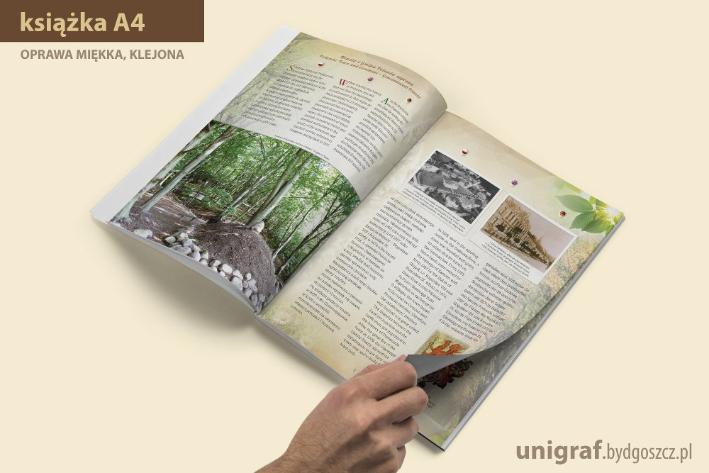 Polanów Miasto i Gmina projekt folderu