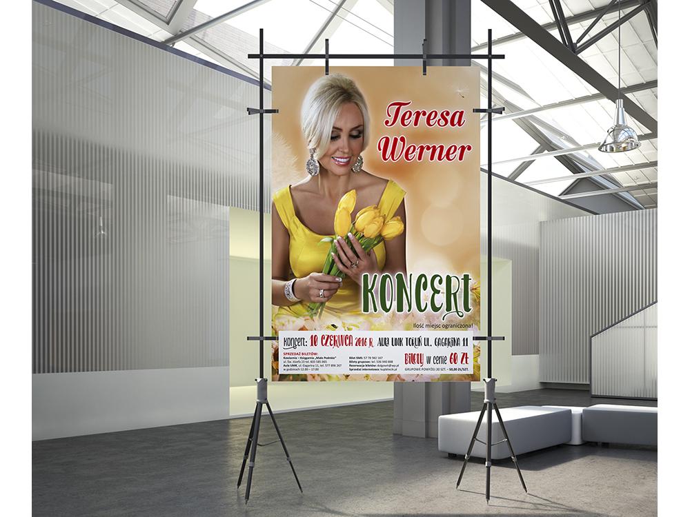 Teresa Werner projekt plakatu