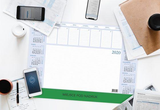 Kalendarz na biurko biuwar