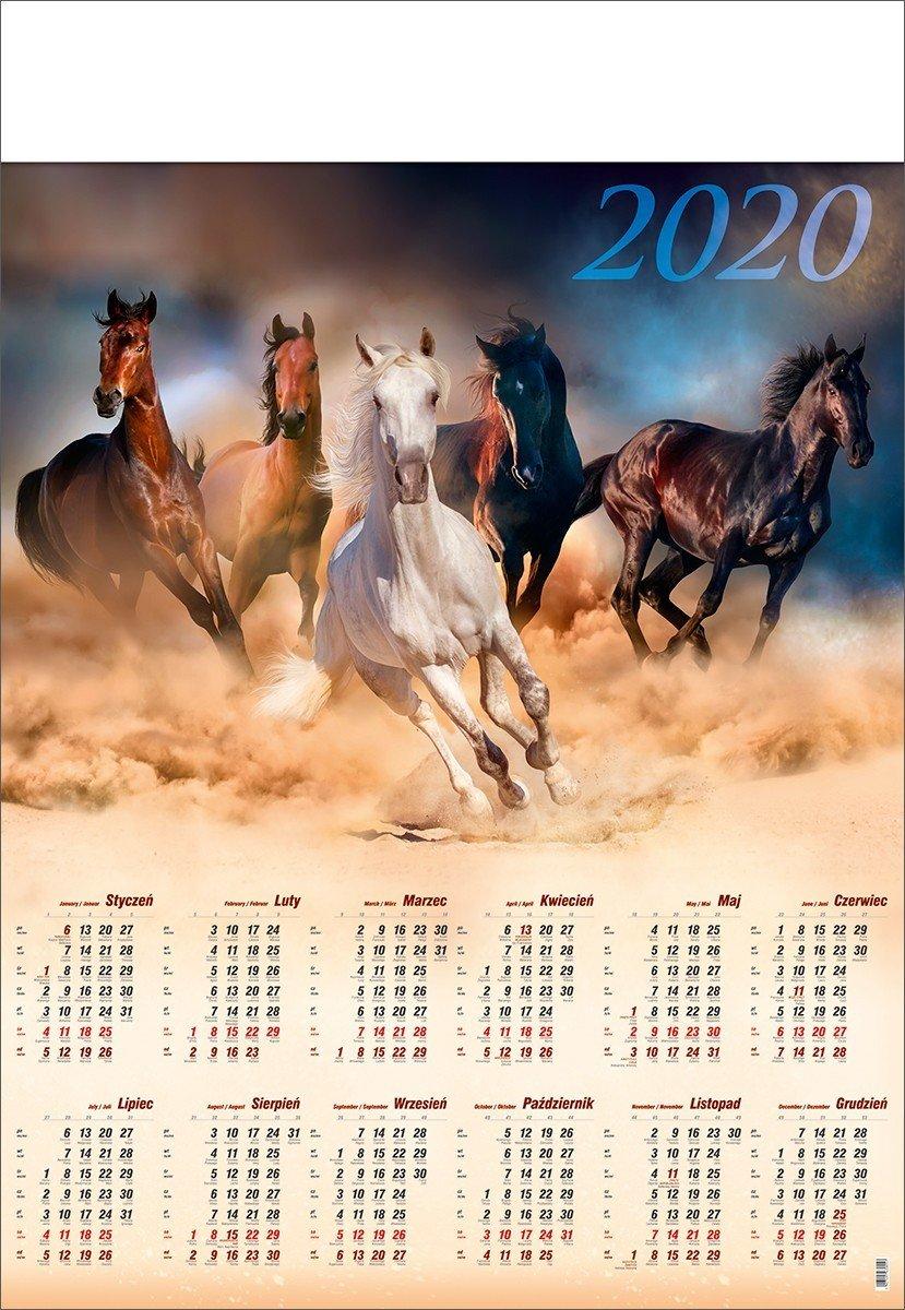 Kalendarz wieloplanszowy B1